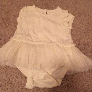 Baby Gap 6m skirted bodysuit